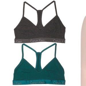 ⭐️ NWT Calvin Klein Bralette 2 Pack